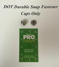 DOT Durable Snap Fasteners Stainless Steel Caps ~ 50 Pieces
