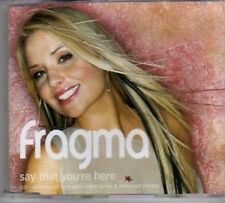 (BL24) Fragma, Say That You're Here - 2001 CD