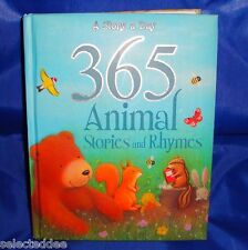 Childrens Animal Stories and Rhymes Book Hardcover