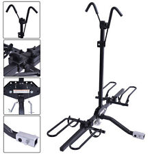2 Bike Carrier Platform Hitch Rack Bicycle Rider Mount Sport Fold Receiver 2""