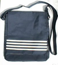 "Jean Paul Gaultier Le Male dark blue shoulder messenger bag, 13 x14"", vgc"