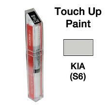 KIA OEM Brush&Pen Touch Up Paint Color Code : S6 - Satin Silver Metallic