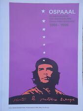 OSPAAAL POLITICAL Poster Che Guevara 30TH ANNIVERSARY CUBAN WAR HERO REVOLUTION