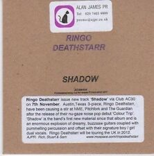 (CE535) Ringo Deathstarr, Shadow - 2011 DJ CD