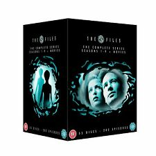 X FILES COMPLETE SERIES SEASON 1 2 3 4 5 6 7 8 9 + MOVIES  R4 55 DISCS  1-9