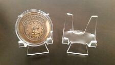 """1 Premium 3"""" Display Stand Easel Challenge Coins Medals Medallions Tokens"""