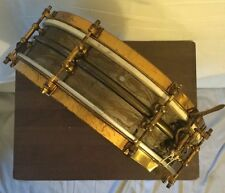 """Vintage Ludwig & Ludwig 1920's De Luxe Black Beauty 4"""" x 14"""" Snare Drum"""
