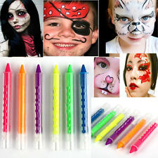 6COLOR Face Body Painting Crayon Sticks Party Halloween For Children Cosplay
