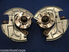 FOX 5-LUG SN-95 BRAKE CONVERSION SPINDLE SET COMPLETELY REMAN WITH NEW HUBS