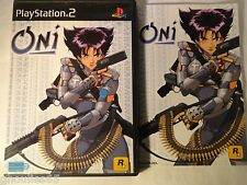 PS2 PS3 ONI PLAYSTATION 2 ONI PS2