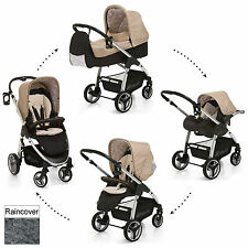 NEW HAUCK LACROSSE ROCK ALL IN ONE TRAVEL SYSTEM PUSHCHAIR CARRY COT CAR SEAT