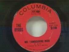 """BYRDS """"MR TAMBOURINE MAN / I KNEW I'D WANT YOU"""" 45"""