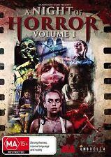 A Night Of Horror : Vol 1 (DVD, 2016) (Region 4) Aussie Release