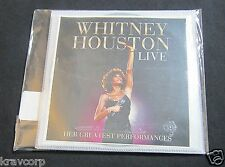 WHITNEY HOUSTON 'LIVE' 2014 PROMO CD/DVD SET--SEALED