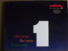 Catalogo Marklin 1987-89 scala 1 1:32 - ENG DEU FRA - Rarissimo - Tr.1
