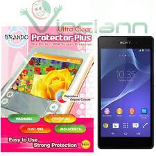 Pellicola display BRANDO per Sony Xperia Z2 protezione ULTRA CLEAR trasparente