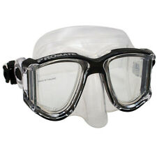 NEW Panoramic Side-View Mask Scuba Dive Snorkeling Gear