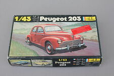P368 HELLER 1/43 maquette voiture Peugeot 203 N°160 boite neuf  1980