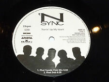 "N SYNC - Tearin' Up My Heart - 1987 UK promo 3-track 12"" Vinyl Single"