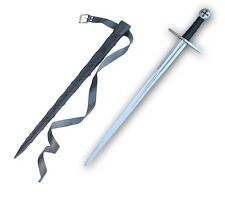 Knights Templar Sword Full Functional Battle Ready Tempered Steel S-1073-GA2