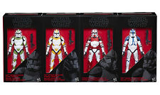 Star Wars Black Series Order 66 Clone Troopers 442nd 212th 501st 4 Pack IN STOCK