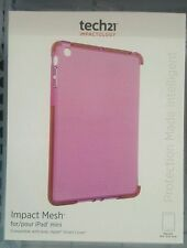 Genuine Tech21 Impact Mesh Case Cover For iPad mini 3/2/1 - - Pink