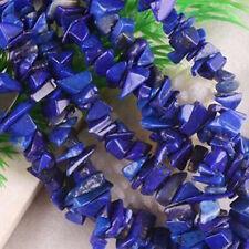 "Wholesale Natural Lapis Lazuli Chip Loose Beads Gemstone 16""L/strand"