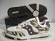 SAUCONY HANGTIME LOW SNEAKERS MEN SHOES GREY/CAM 2422-3 SIZE 11 NEW