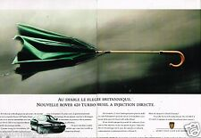 Publicité Advertising 1995 (2 pages) Rover 620 Turbo