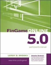 FinGame 5.0 Participant's Manual with Registration Code (IrwinMcGraw-Hill Series