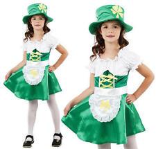 Childrens Kids Leprechaun Fancy Dress Costume St Patricks Day Irish Outfit L