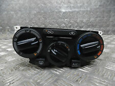 NISSAN NOTE ACENTA 2009 MPV HEATER PANEL WITH A/C SWITCH N107001B 0