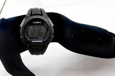 Timex IROMAN Black Digital Chronograph Watch Msrp $42.00 **NEW**