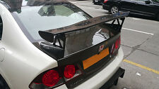New Spoiler Wing For HONDA Civic 2006 4 Door FD2R TypeR Mug Style Carbon Fiber