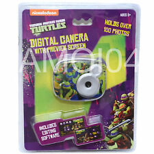 "Teenage Mutant Ninja Turtles Kids 2.1MP Digital Camera 1.5"" inch Preview Screen"