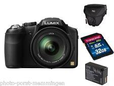 Panasonic DMC-FZ-200 FZ200 EG-K Zubehörpaket: 32 GB Karte + Tasche + Ersatzakku