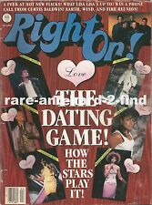 RIGHT ON April 1988 Rare Vintage USA Celebrity Magazine