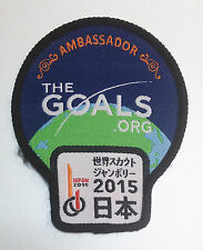 23RD World Scout Jamboree AMBASSADOR BADGE for the goals org 2015