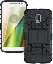 Motorola Moto E3 Power shockproof Armor defender with stand Hybrid cover case