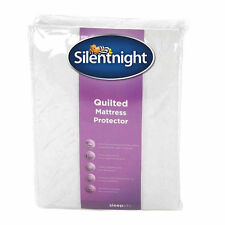 NEW SILENTNIGHT KING SIZE SUPER SOFT QUILTED MATTRESS PROTECTOR BED BEDDING