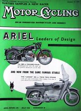 Oct 16 1958 ARIEL Square 4 & 2 Stroke Motor Cycle ADVERT - Magazine Cover Print