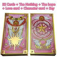 Death Prophet CLAMP 56 CardCaptor Sakura Clow Cards + pink Clow Book SET Cosplay