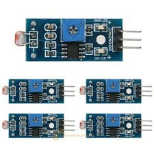 5pcs Light Intensity Photosensitive Sensor Resistor Module For Arduino DC 3.3-5V