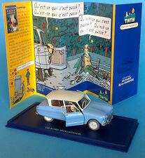 VOITURE TINTIN CAR ATLAS n°14 Citroën Ami 6 année 60 Les bijoux de la Castafiore