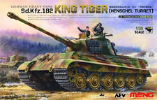 Meng 1:35 German Heavy Tank Sd.kfz.182 King Tiger Henschel Turret #TS031