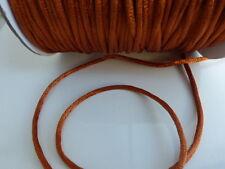 10 metros (10m) 2mm Bronce Cola De Rata Cola de rata Satén Cable de nilón Threading abalorios