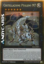 Costellazione Ptolemy M7 ☻ Oro ☻ PGL3 IT071 ☻ YUGIOH ANDYCARDS
