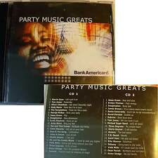 Various - PARTY MUSIC GREATS - Double CD Disco '70 Spec. Ed. for Bank Americard