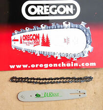 "HUSQVARNA 136 141 13"" BAR & CHAIN MADE BY OREGON & JAKMAX PRO BAR 56X.325 050"""