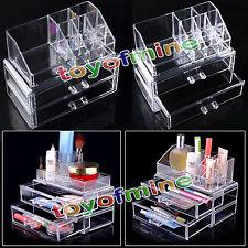 Maquillaje 3 Cajas estuches para cosméticos Joyería cajones calientes